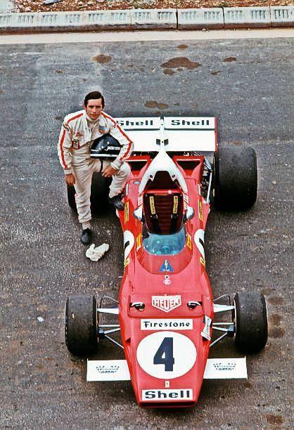 1971 GP Francji (Le Castellet) Ferrari 312 B2 (Jacky Ickx