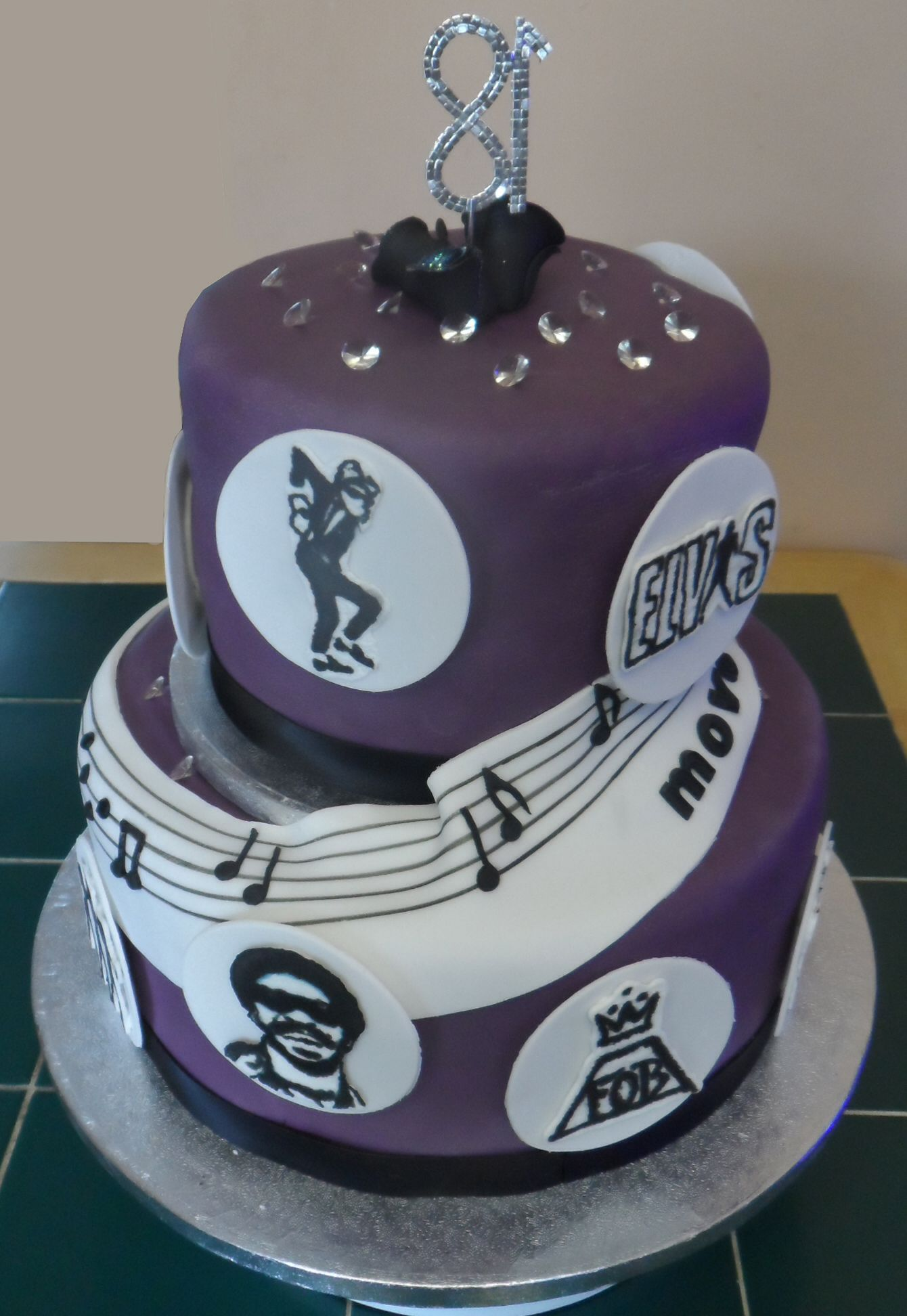 Move Dance Be Born 18th Birthday Cake Ska Two Tone