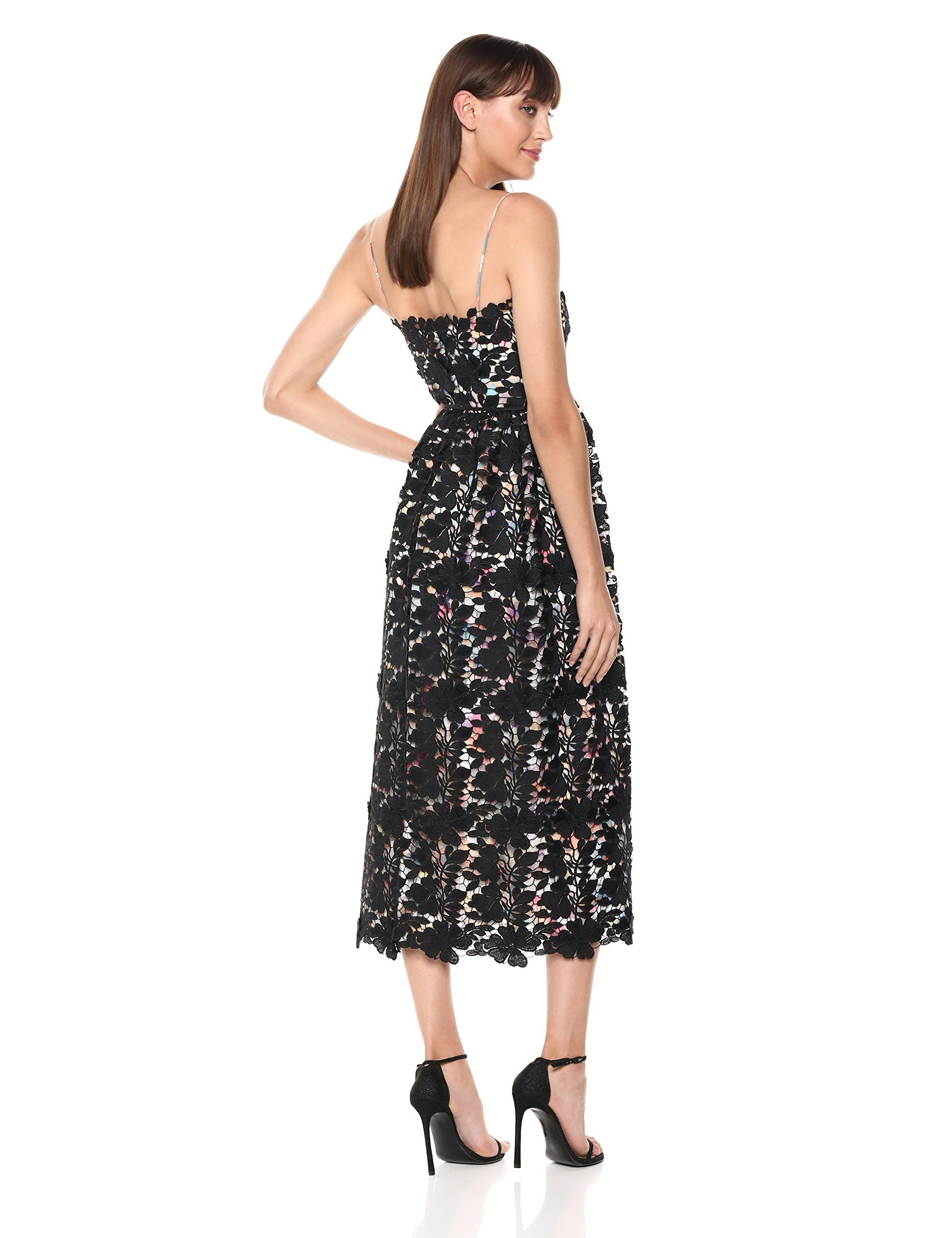 c0621e2b66b ML Monique Lhuillier Womens Sleeveless Lace Cocktail Dress Watercolor Black  2   Be sure to check out this awesome product-affiliate link.  dresses