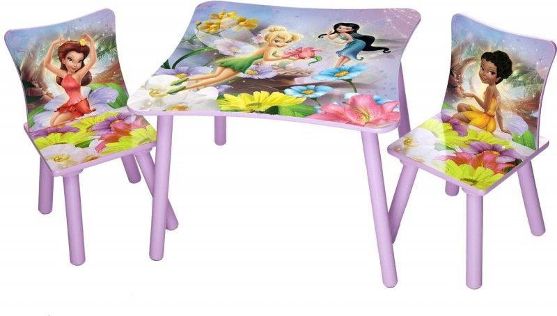Tavolino Disney Legno.Trilli Disney Fairies Set Tavolo 2 Sedie In Legno Sedia