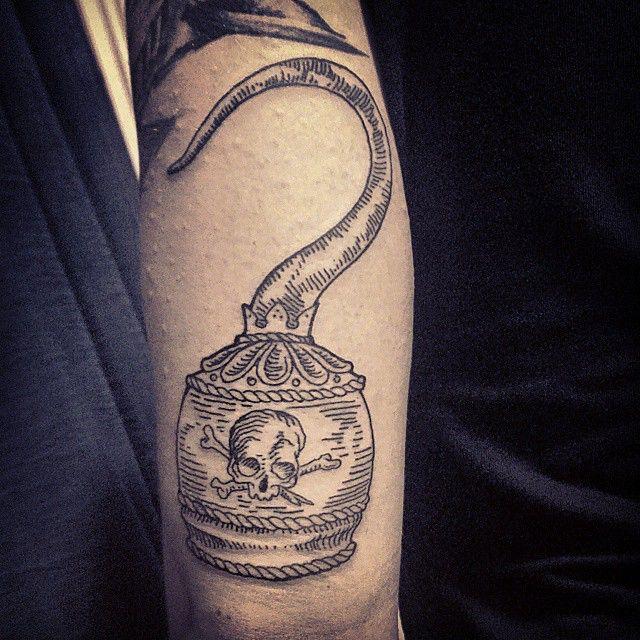 Matteo Al Denti Tattoo