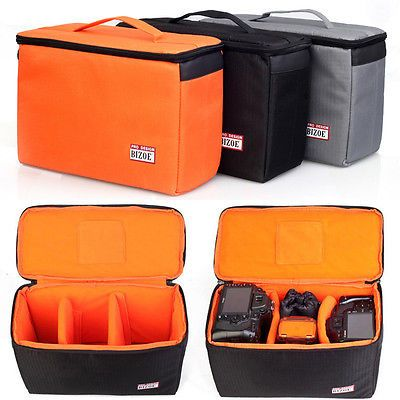 Waterproof Dslr Camera Bag Insert Handbag Padded Partition Carry Case Pouch New Cases Bags Covers Ca Camera Bag Insert Dslr Camera Bag Insert Camera Bag