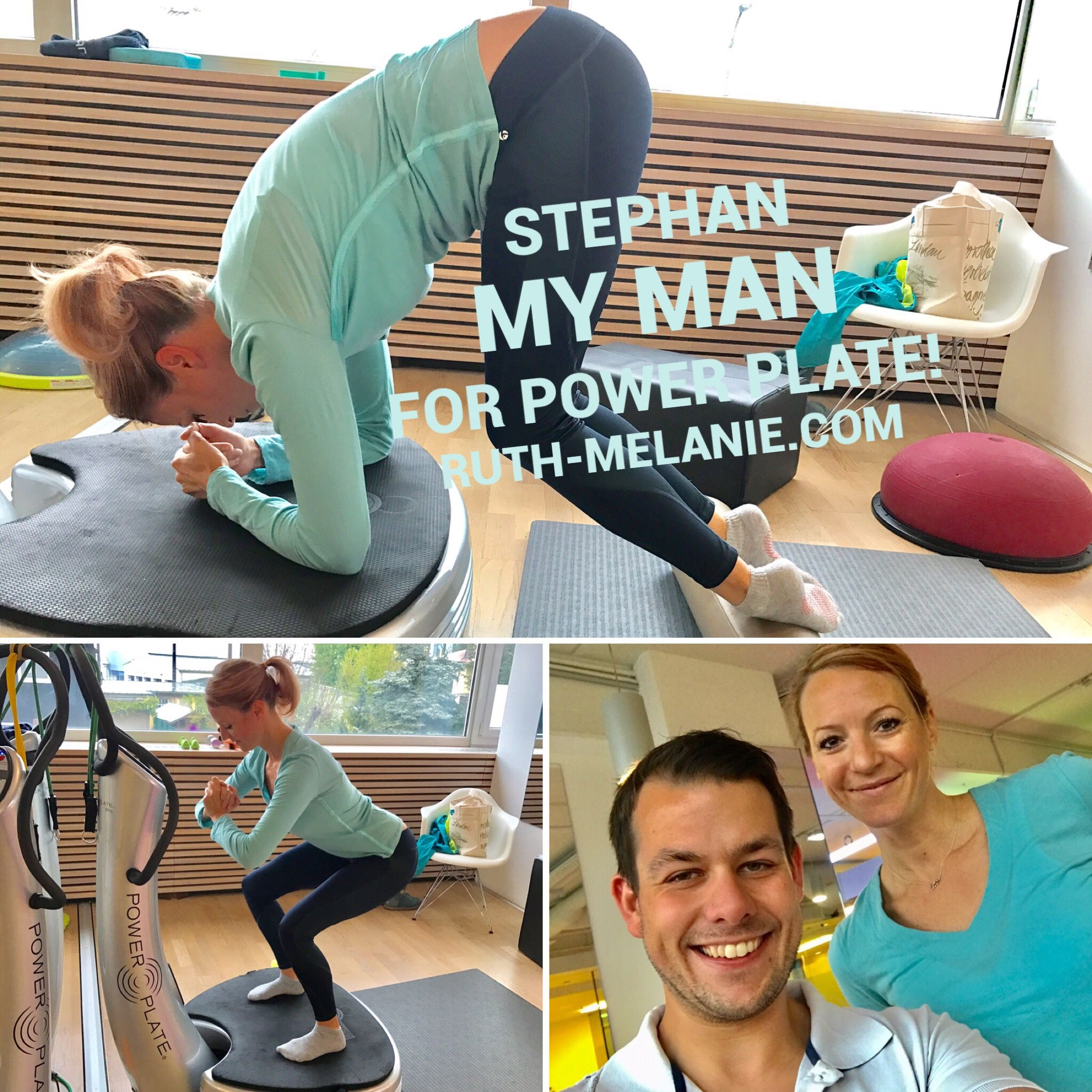 💪🏻Stephan my man for power plate💪🏻 #ruthmelanie #fashion #lifestyle #beauty #powerplate #fitness #training #motivation