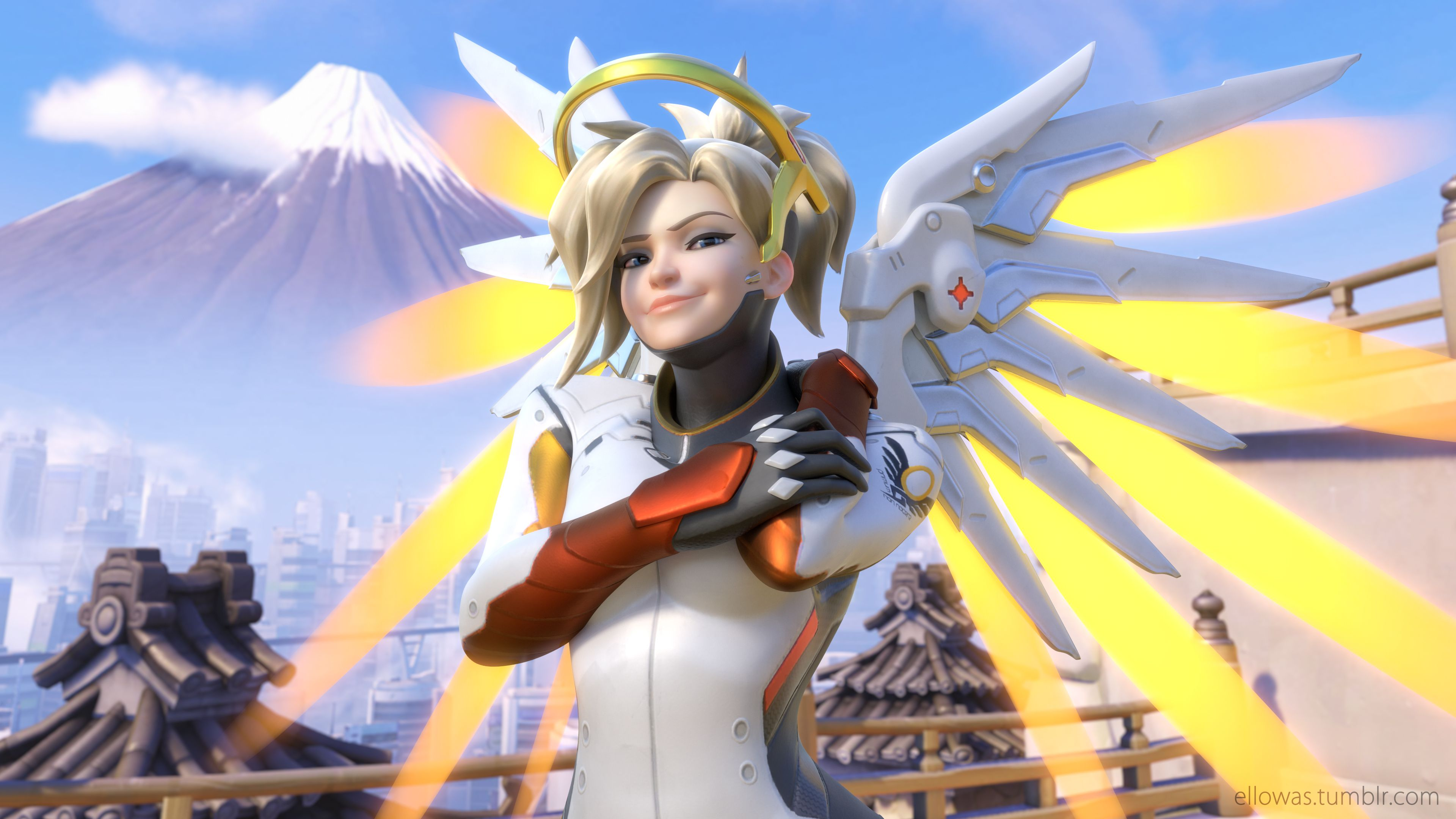 Image result for mercy overwatch Mercy OW Reference