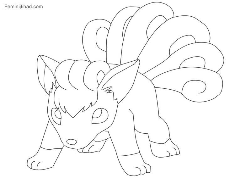 Printable Pokemon Vulpix Coloring Pages Free Coloring Sheets Cartoon Coloring Pages Coloring Pages Pokemon Coloring