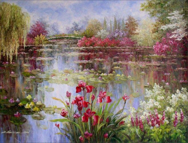 20 Famous Monet Paintings and Landscape artworks Pinterest Monet