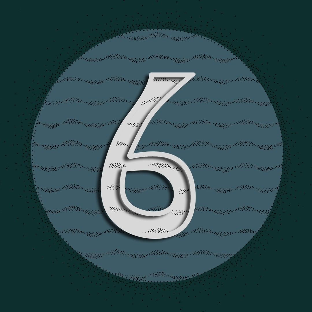 Day 33 -Number 6- . . . . . . . . . . . . . . . #36daysoftype #36days_6 #Font #Number6 #lettering #challenge #wilddots #Pattern #Artnoveouinspired #dotwork #blackwork #finelinerart #fineliner #repeatingpattern #Fontmaking #alphabet #36days #36daysoftype07 #mixedmedia