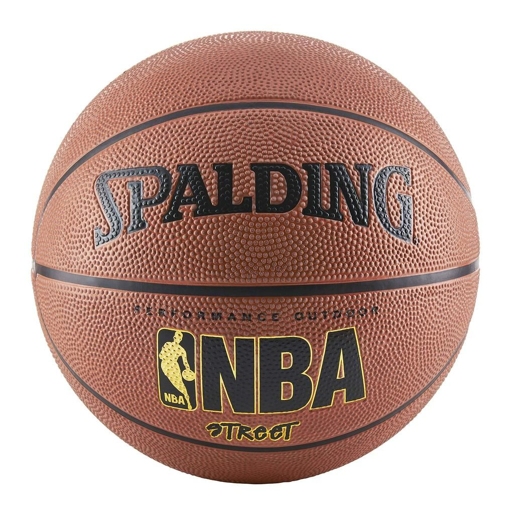 Spalding Nba Street Basketball Official Size 7 29 5 Inch Street Basketball Basketball Ball Spalding