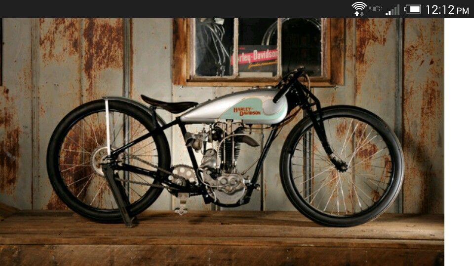 1930 Harley Peashooter Factory Racer