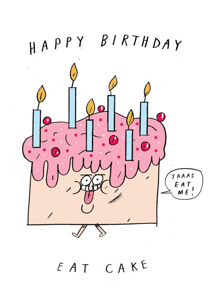 Thortful An Awesome Birthday Card From Ben White Birthday Cards Birthday Doodle Cards