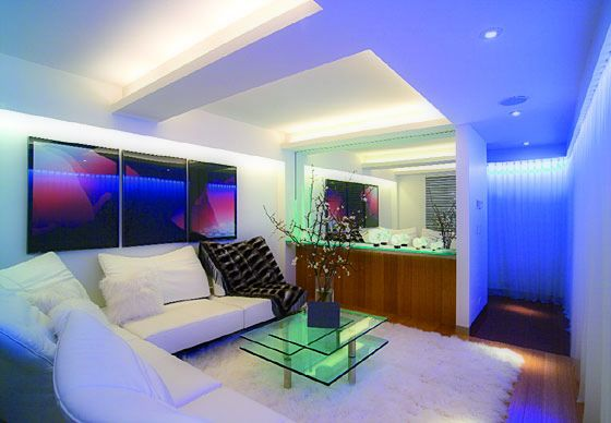 Beautiful Led Light Living Room   Sokaci