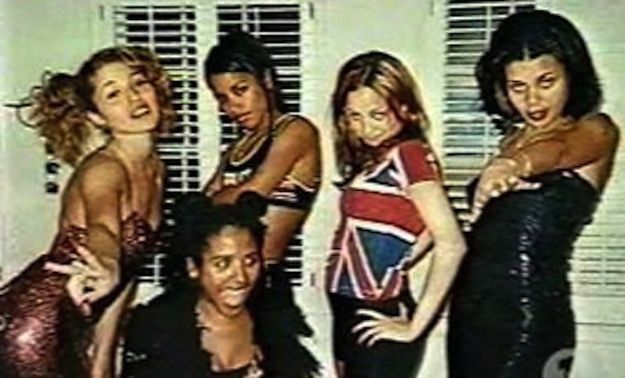 This Photo Of Aaliyah And Nicole Richie Dressed Up As The Spice