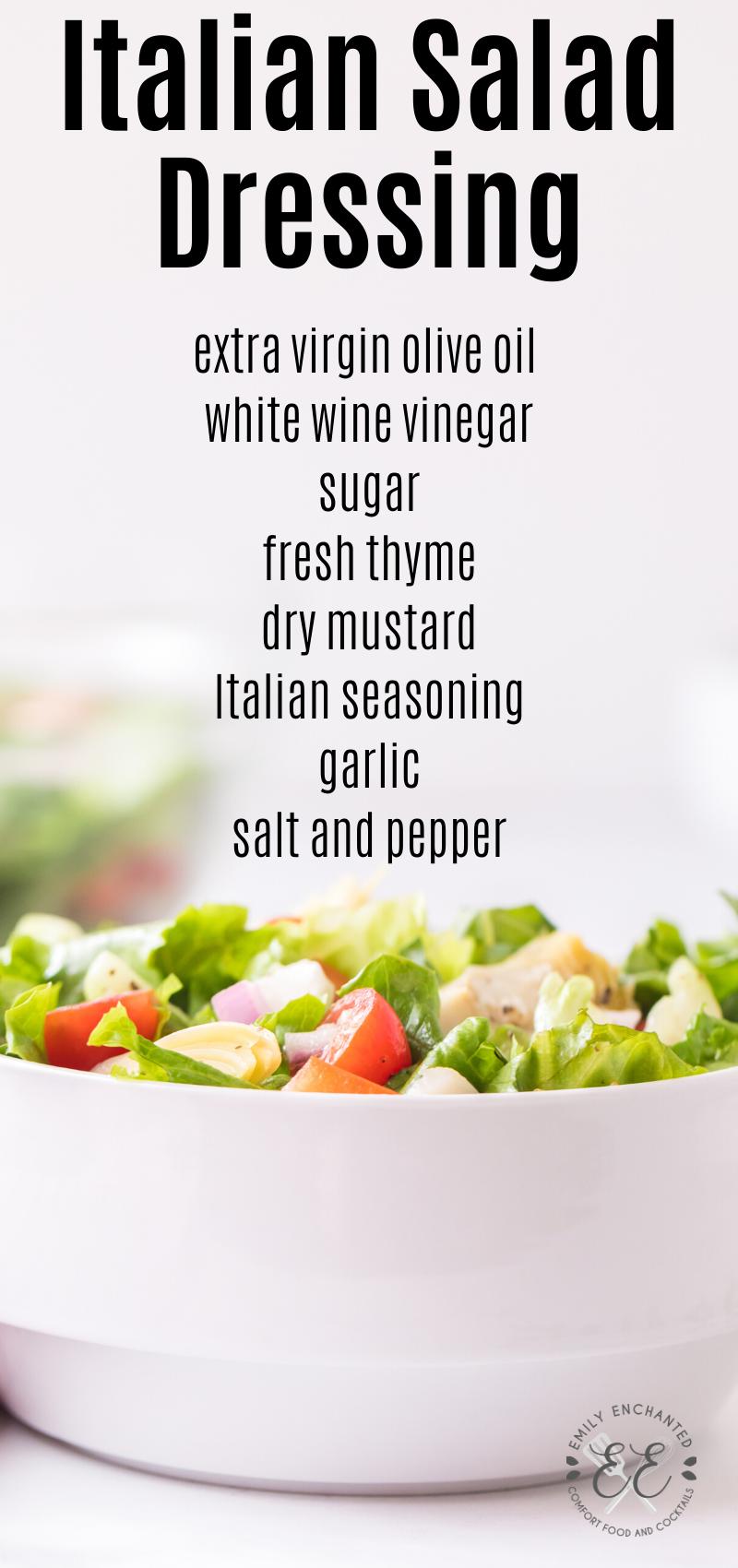 Zesty Italian Salad Dressing Sweet Italian Dressing Recipe Italian Salad Italian Salad Dressing [ 1700 x 800 Pixel ]