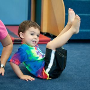 V-Sits are a great skill for kids to practice at home. They are great for developing core strength and increasing focus.