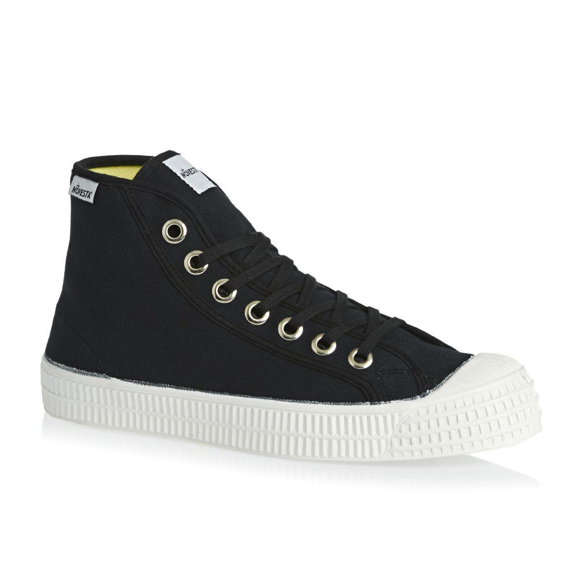 Novesta Star Dribble Classic Hi Shoes - Black