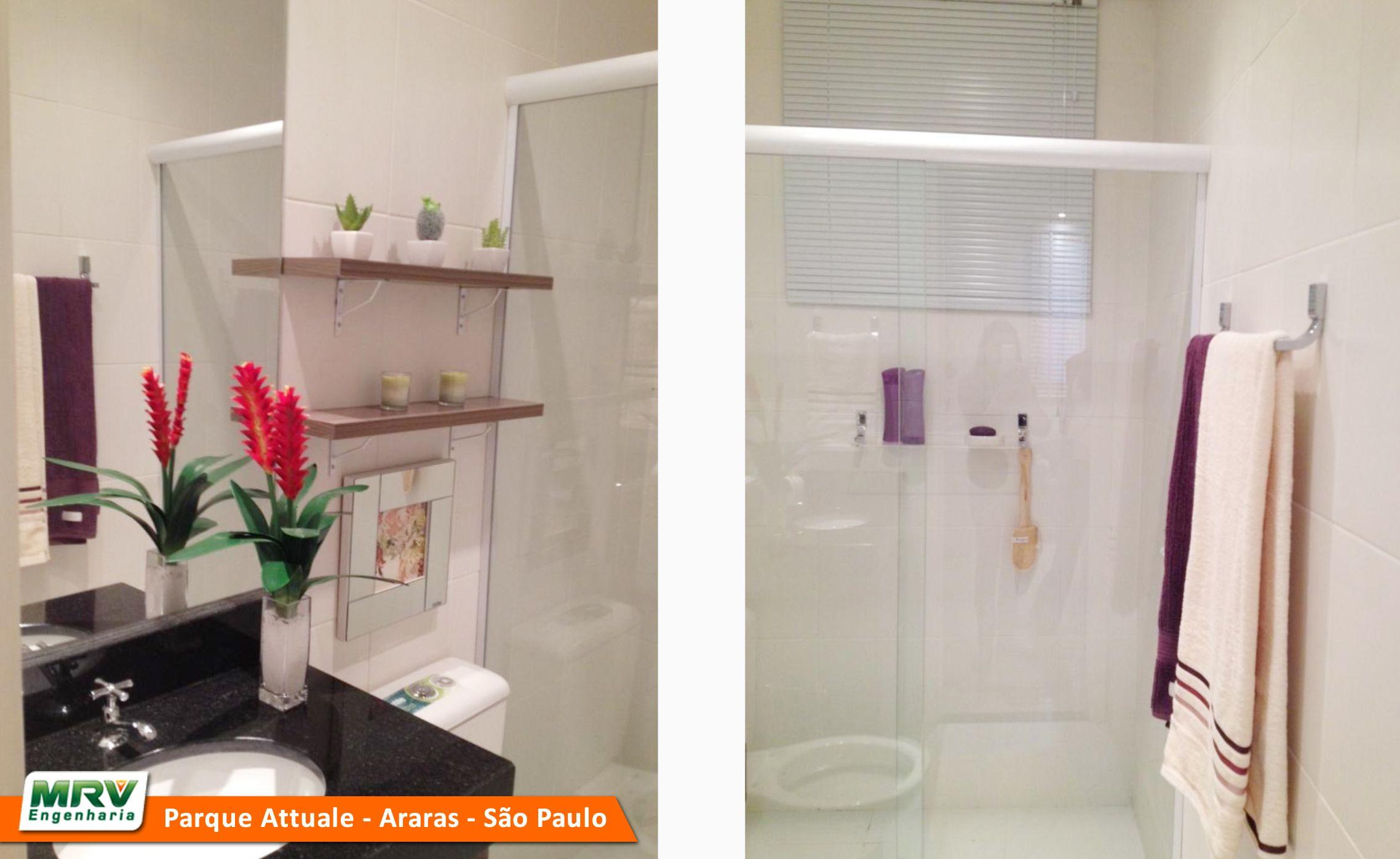 Catarina Araras SP MRV Engenharia MRV Engenharia Banheiro #C95002 2276x1396 Banheiro Apartamento Mrv