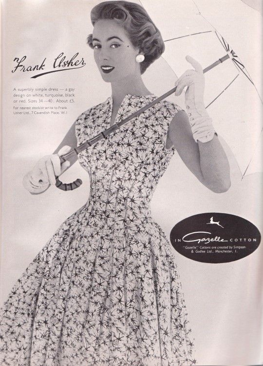 Tuppence Ha'penny: Style & Textile in Vogue 1955