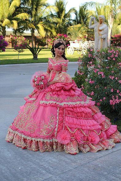 over the top quinceanera dresses