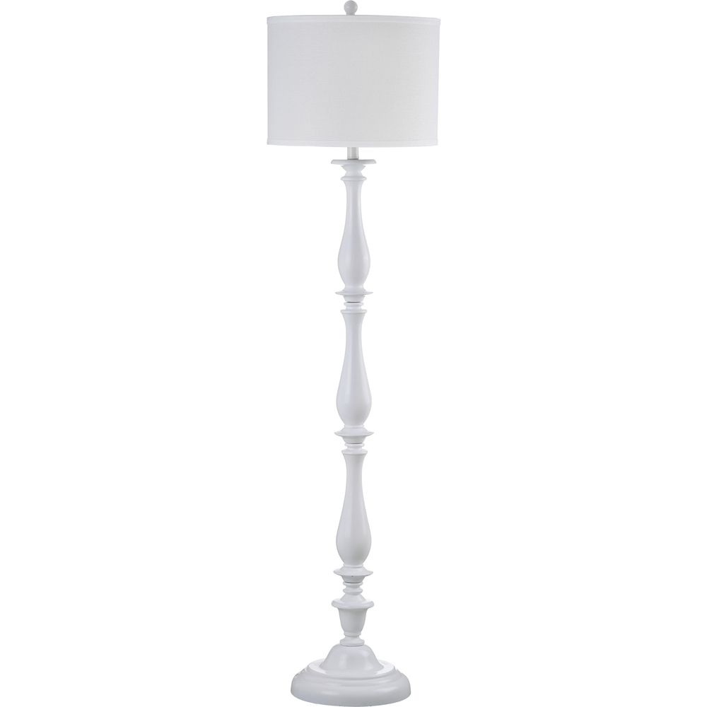 Safavieh Indoor 1 Light Bessie Candlestick White Floor Lamp   Overstock™  Shopping   Great