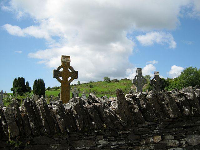 Caheragh graveyard Bartholomew Hourihane is buried here