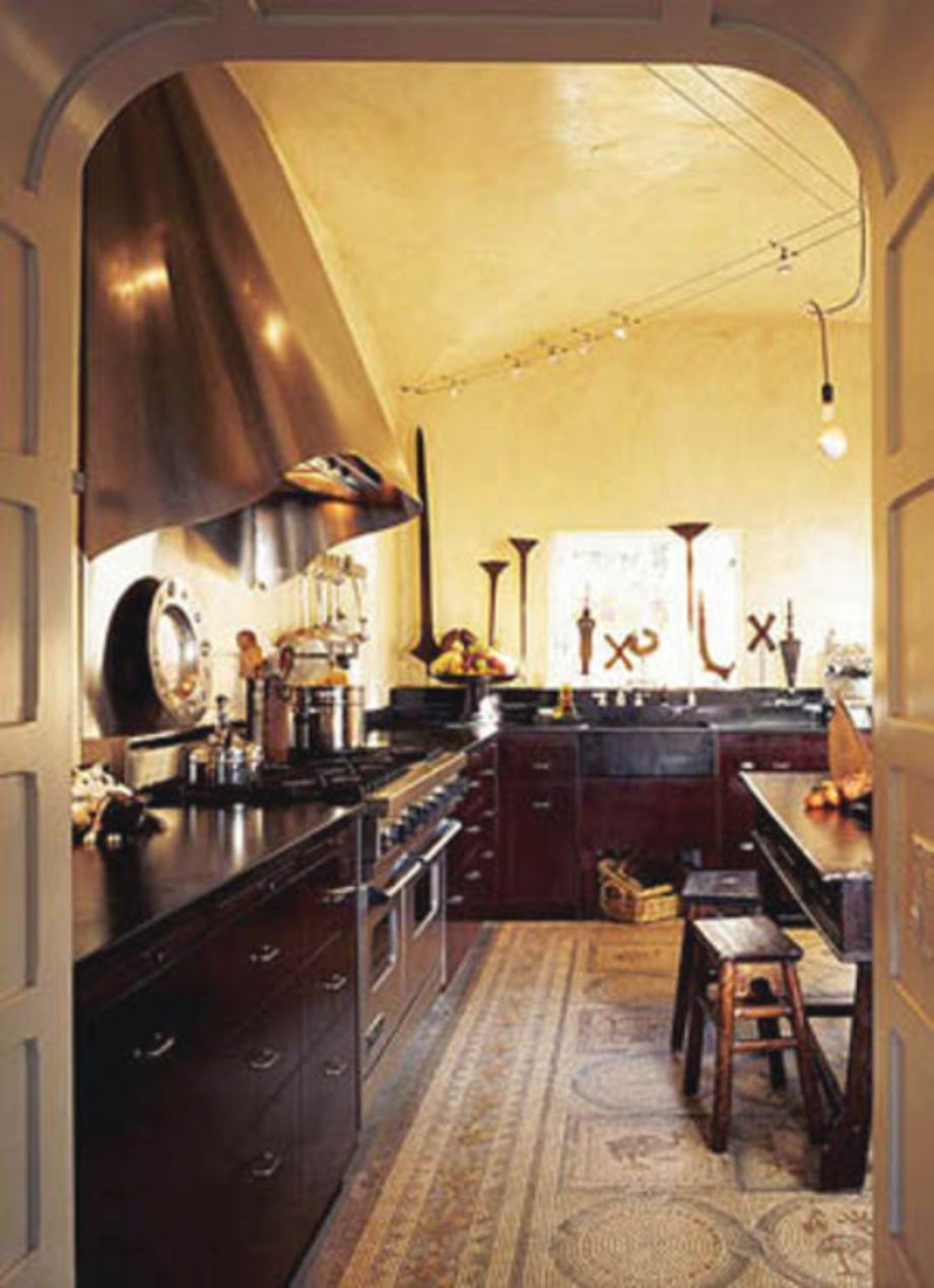 80 Amazing Cream And Dark Wood Kitchens Ideas