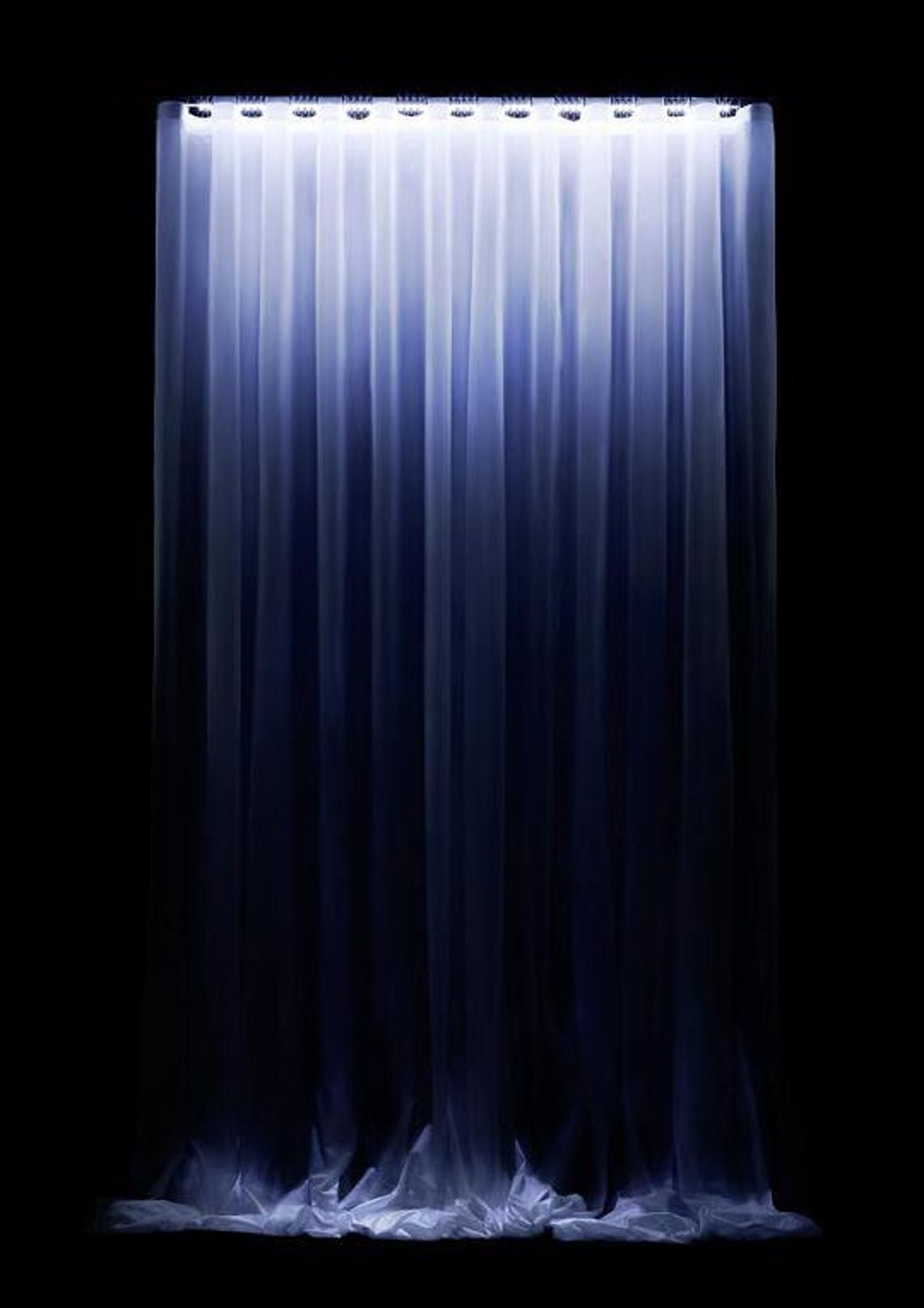 Waterfall LED Curtain Turns Night To Day Electric Zoo Shanghai 2016 Led Curtain Lights