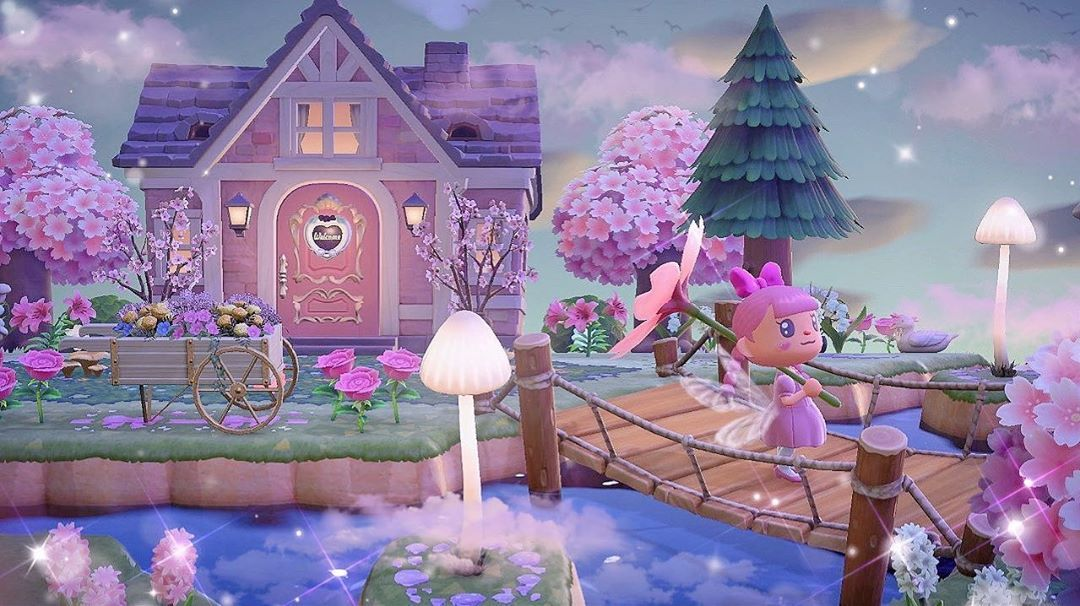 Animal Crossing Fairycore House Exterior created by ...