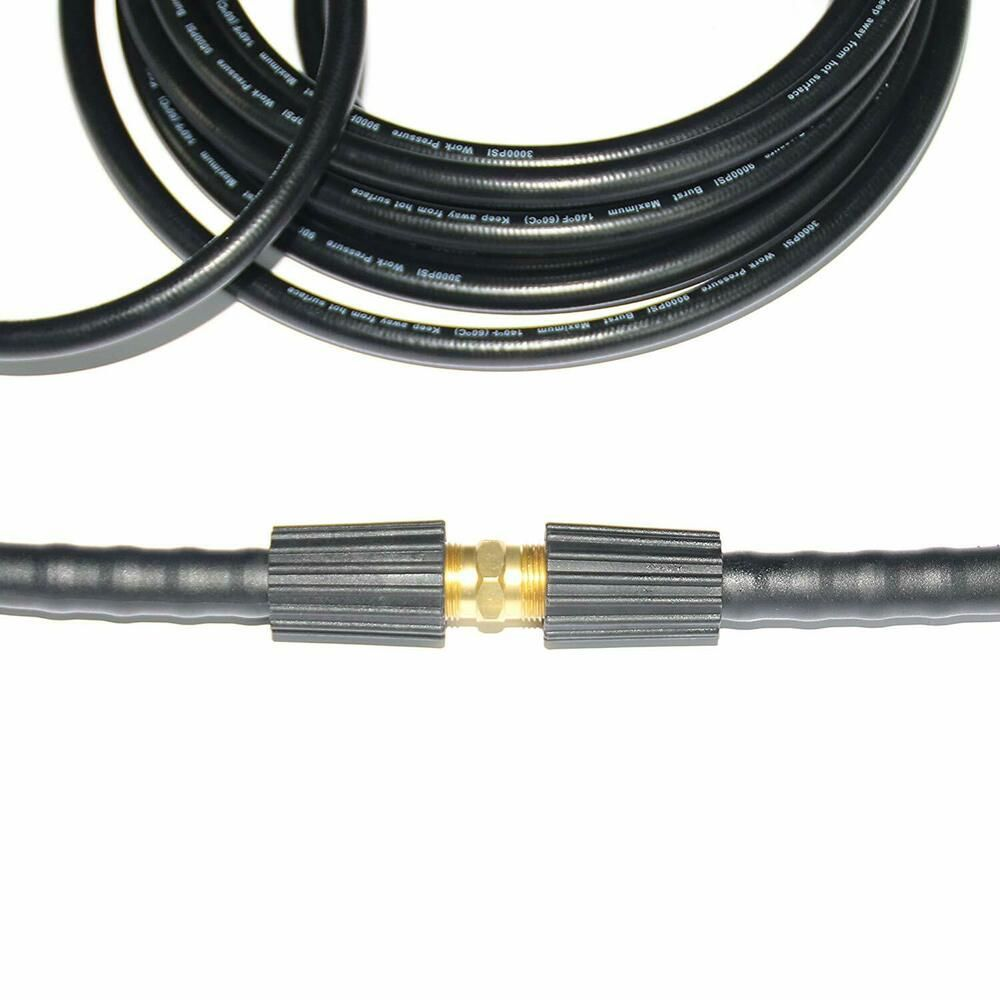 Xzt 50ft 1 4 Inch High Pressure Washer Hose With Adapter 3000psi Extension Hose Doesnotapply In 2020 Washer Hoses Hose Pressure Washer