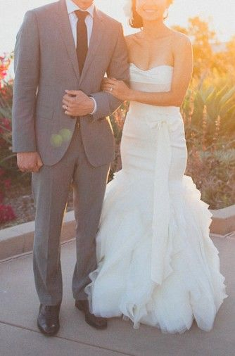 Vera Wang ETHEL Size 0 Wedding Dress