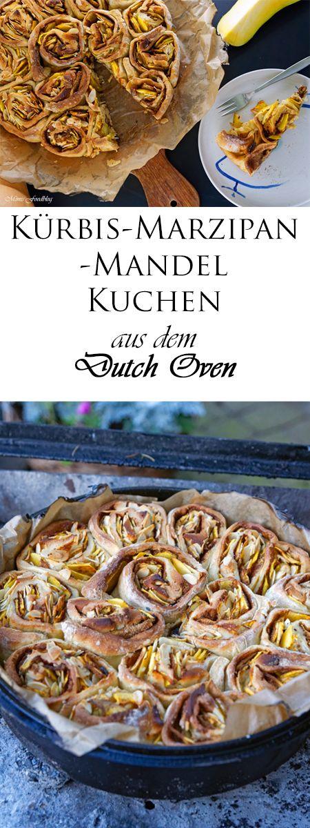 K rbis marizipan mandel kuchen im dutch oven eine kleine for Kuchen gewinnspiel