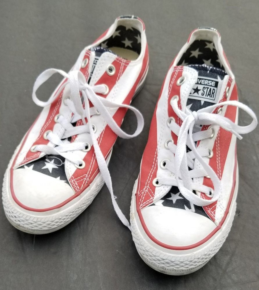 d3b45b4ad1bf Converse Chuck Taylor All Star Americana Tennis Low Shoes Men 8 ...