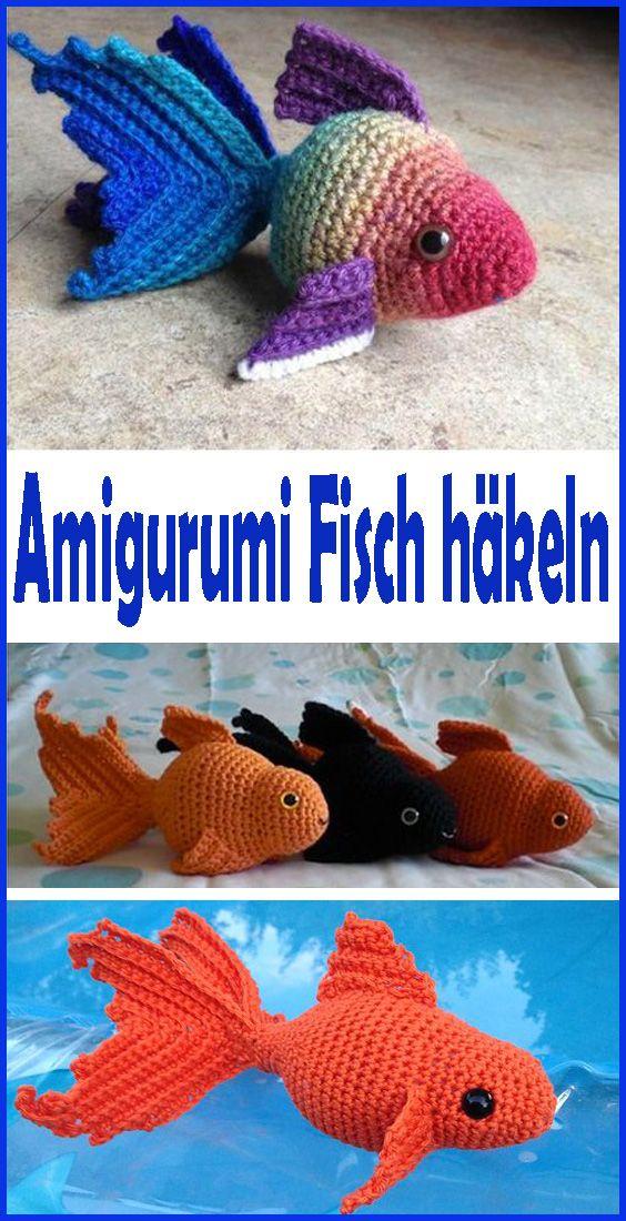 Photo of Amigurumi Fisch häkeln – Einfache Anleitung für Anfänger