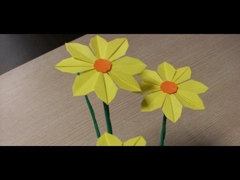 Origami Daisy Origami Pinterest Origami Diagram And Flower