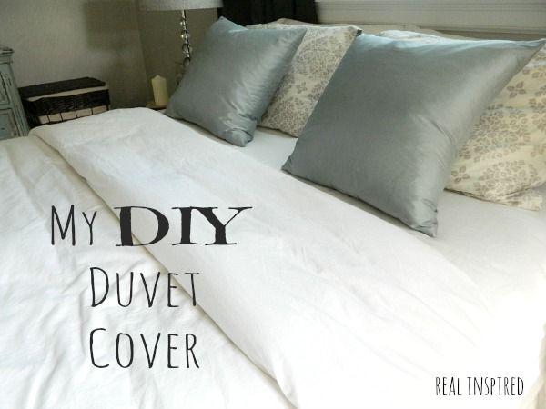 Real Inspired My Diy Duvet Cover Diy Duvet Duvet Cover Diy Duvet Covers