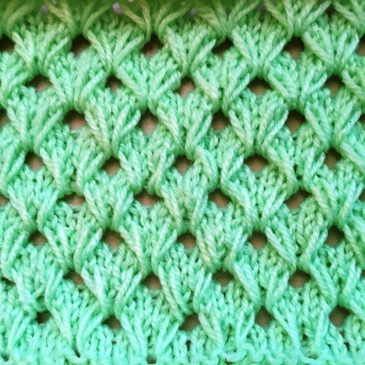 Tricot merveilleux point tricot maravilloso punto tejido - Tutoriales de punto con dos agujas ...