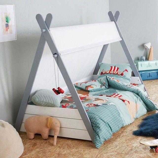 lit enfant tipi avec sommier siffroy en 2019. Black Bedroom Furniture Sets. Home Design Ideas