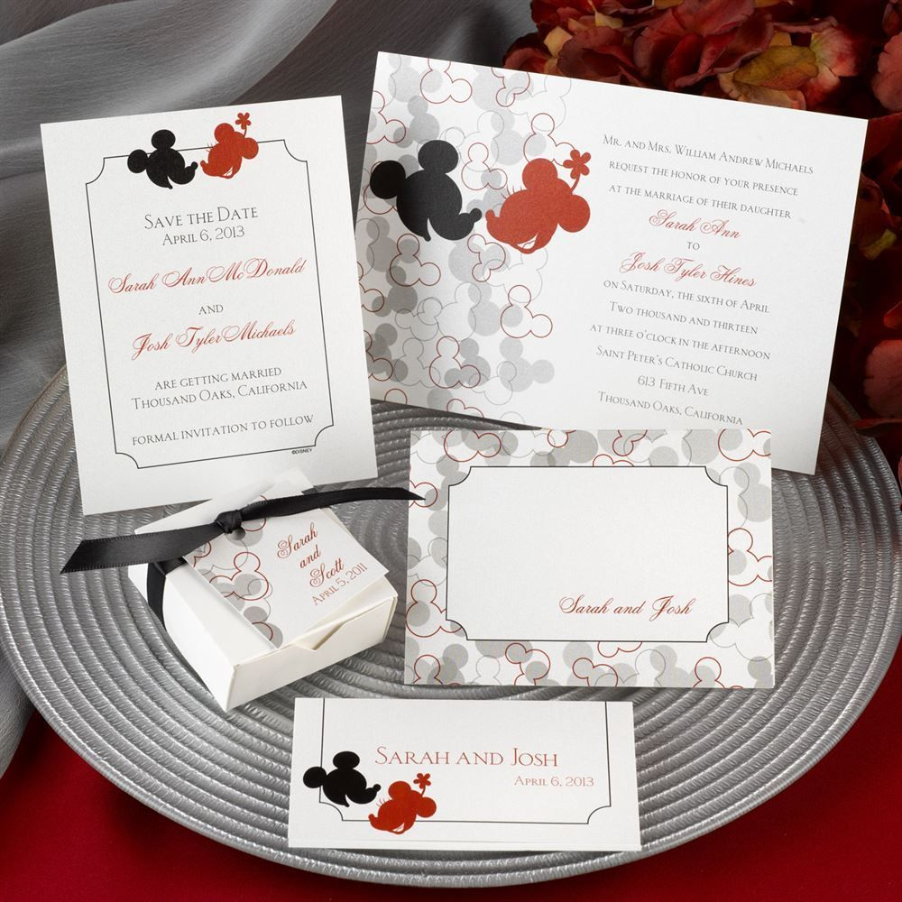awesome Create Easy Disney Wedding Invitations Designs Ideas Check ...