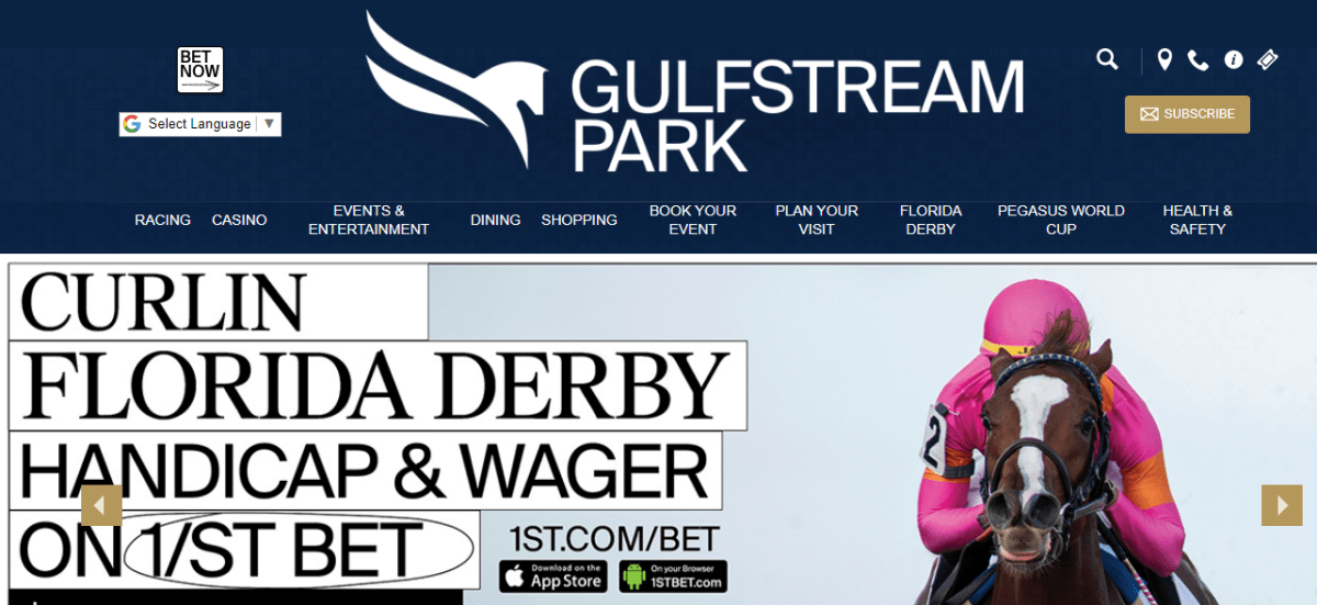 Gulfstream Park Racing, Casino and Live Event Update in