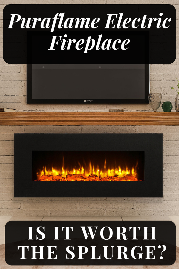 Puraflame Serena Wall Mounted Electric Fireplace A Review On The