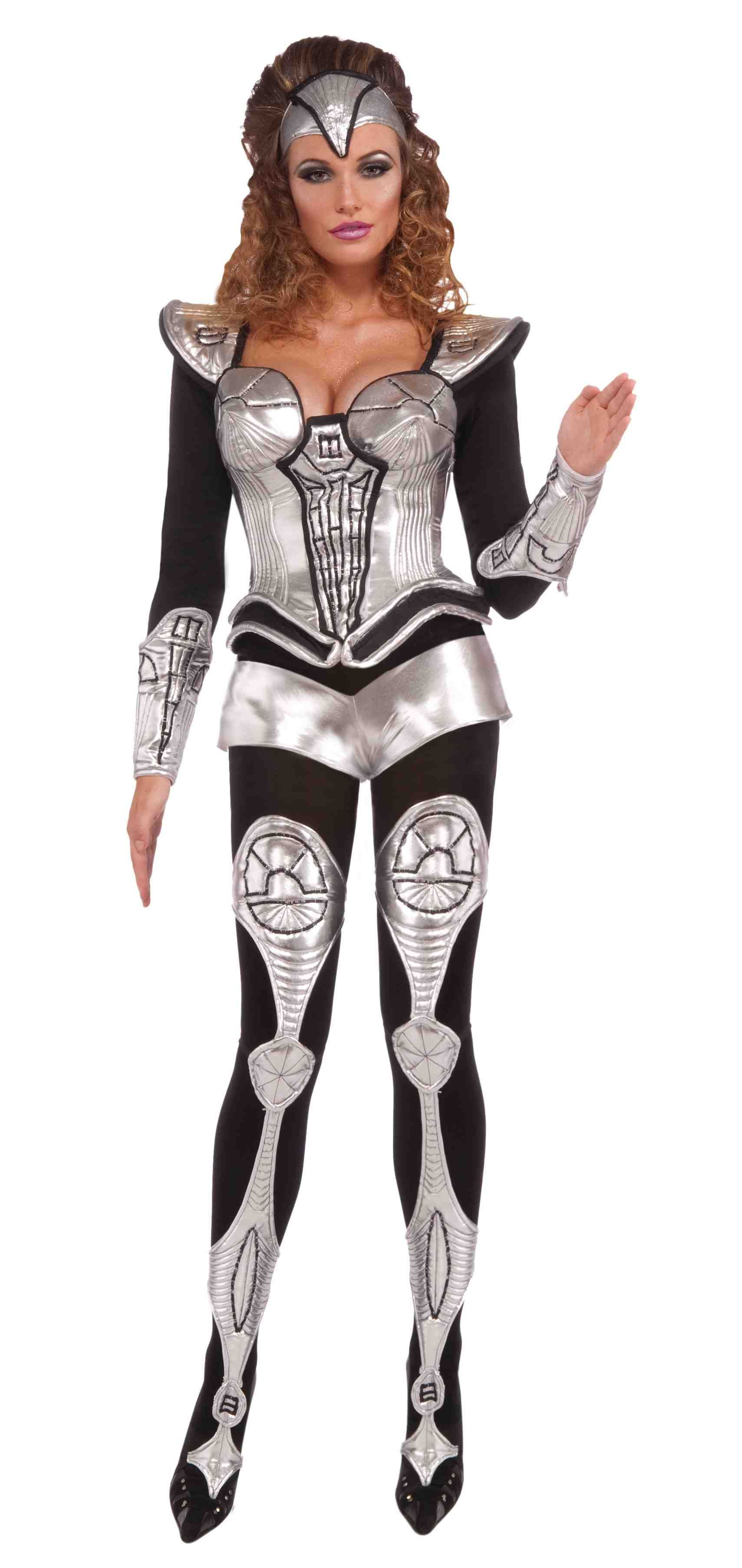 Home gt gt cleopatra costumes gt gt jewel of the nile egyptian adult - Sexy Cyborg Womens Costume