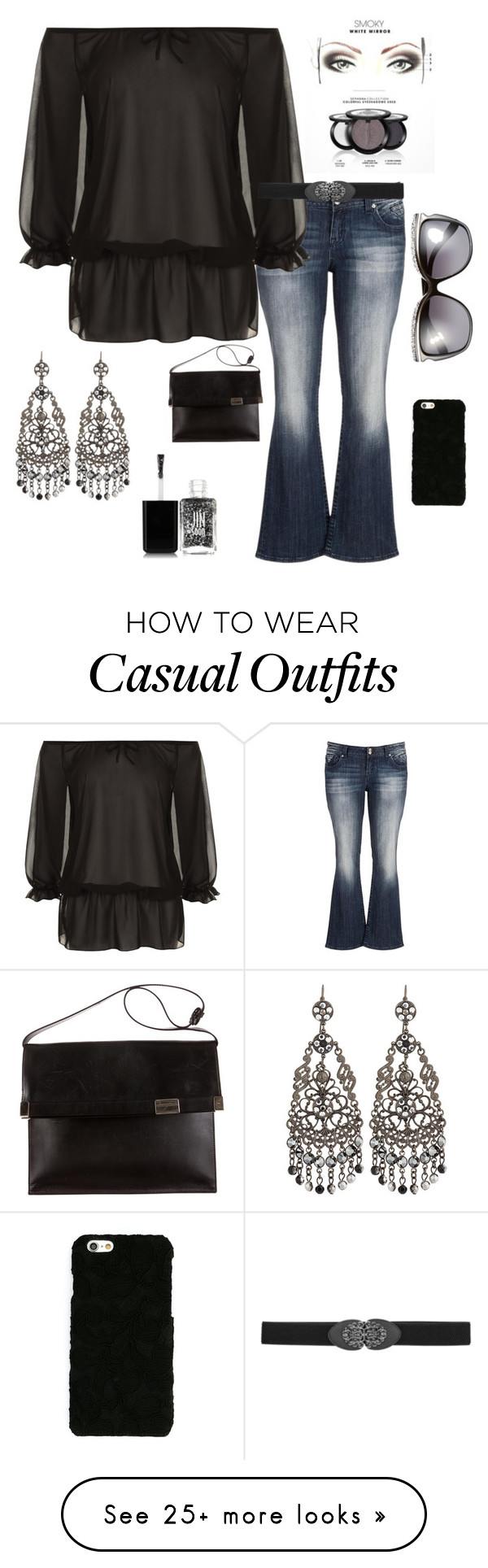 """""""Casual Date night"""" by im-karla-with-a-k on Polyvore featuring maurices, WearAll, Jose & Maria Barrera, Dolce&Gabbana, JINsoon, Maison Margiela, women's clothing, women's fashion, women and female"""