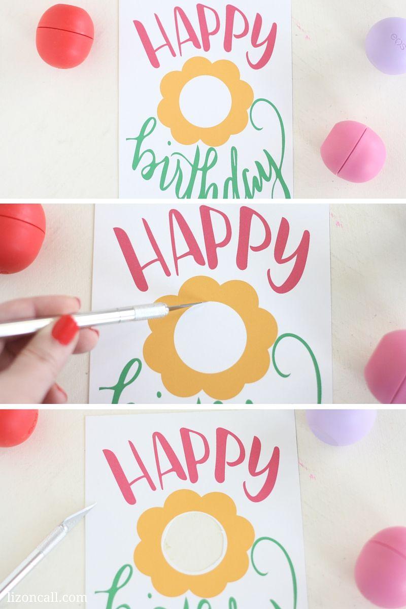 Free Printable Eos Happy Birthday Gift Card Happy Birthday Gifts