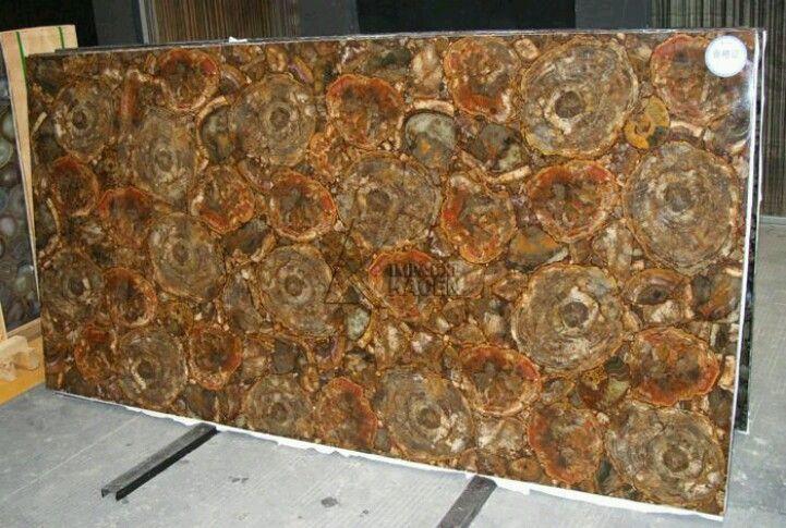 Petrified Wood Slab For A Counter Beautiful Colors Marble Granite Wood Slab Petrified Wood