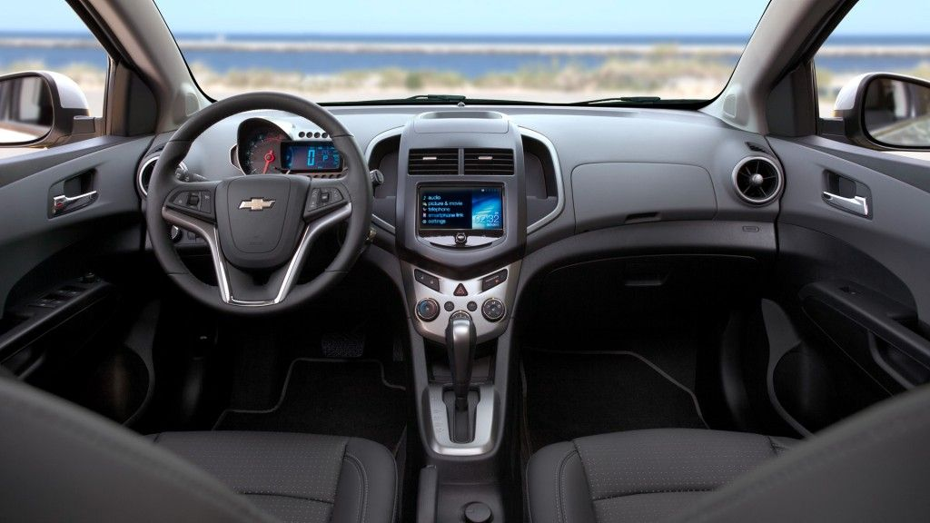 2013 Chevy Sonic Interior Photos Hatchback Chevrolet
