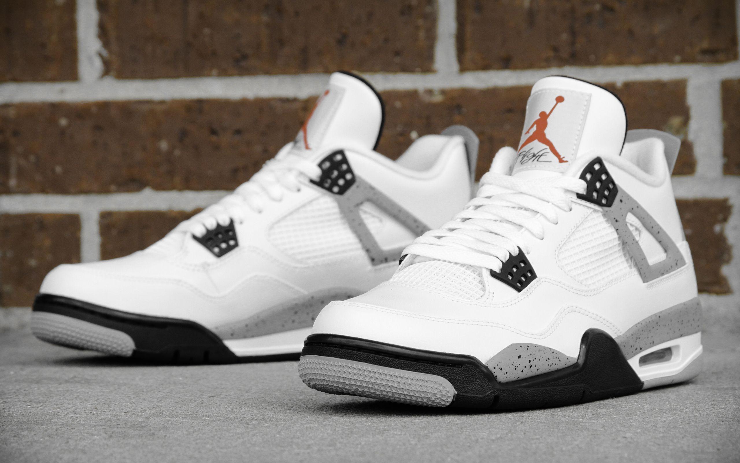 "Air Jordan 4 ""Cement"" Weekly Wallpapers Pinterest"