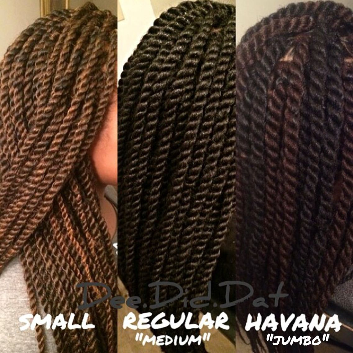 Sizechart For Marley Twists Protective Styles Jpg 1136x1136 Braid Size Chart