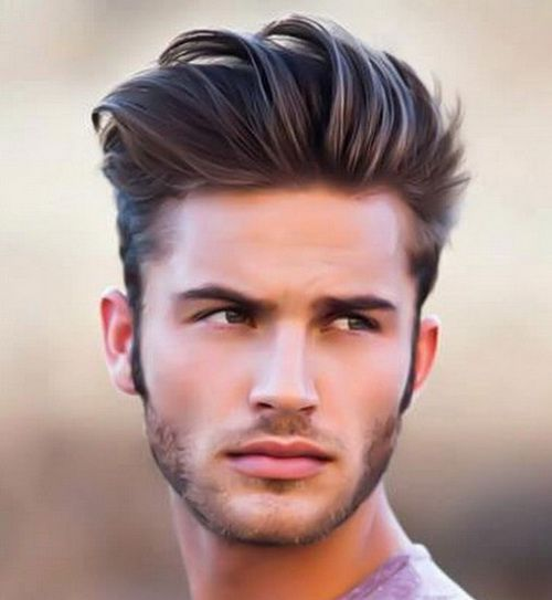 The Pulled Back Over Long Front With Short Sides 2017 Men