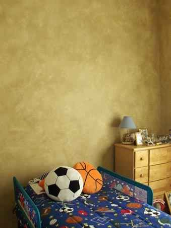 sponge painting treatment on walls | For the Home | Pinterest ...