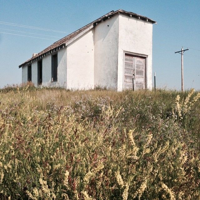 A country church along ND 1804. #abandoned #northdakota #Padgram