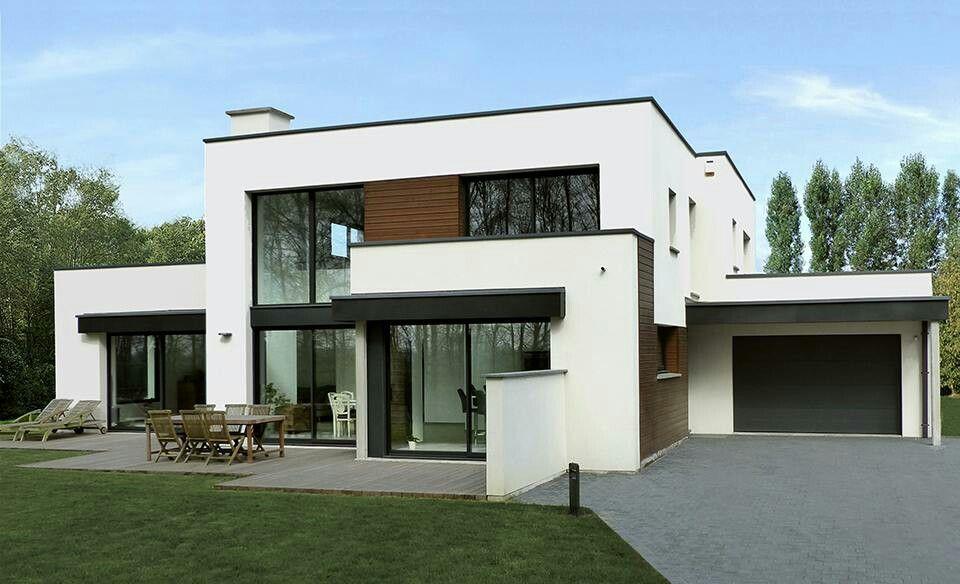 Épinglé par Amarzaya sur Architecture design   Maison cubique, Maison, Plan maison contemporaine
